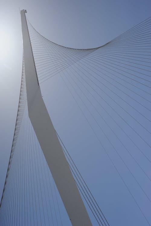 Foto d'estoc gratuïta de arquitectura, blanc, cel, foto