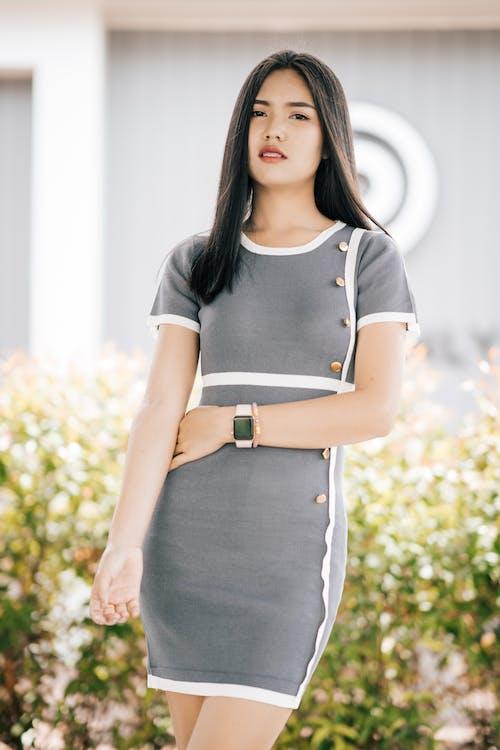 Kostenloses Stock Foto zu asiatische frau, elegant, fashion, fotoshooting