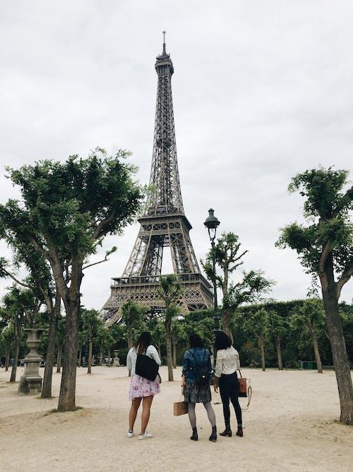 Ilmainen kuvapankkikuva tunnisteilla arkkitehtuuri, eiffel-torni, ihmiset, kaupunki