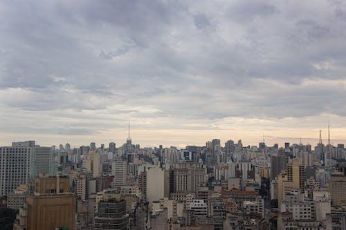 biuld, centro da cidade, ceu da cidade, cidade içeren Ücretsiz stok fotoğraf