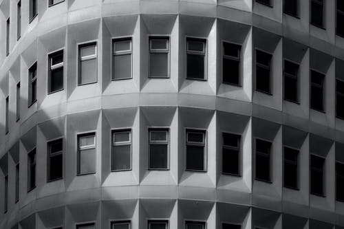 Monochrome Photography of Building