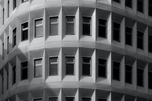 Ilmainen kuvapankkikuva tunnisteilla arkkitehdin suunnitelma, arkkitehtoninen yksityiskohta, arkkitehtuuri, harmaasävyt