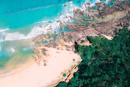 Immagine gratuita di bagnasciuga, da sopra, esterno, isola