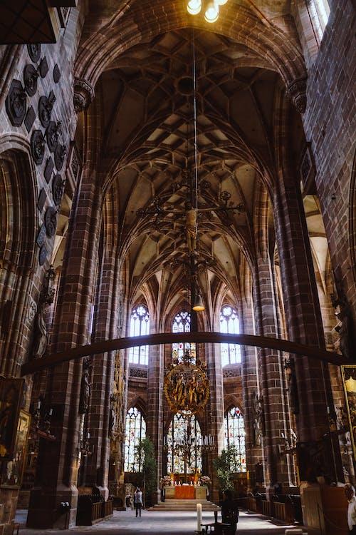 Gotik, gotik kilise, kilise, lorenzkirche içeren Ücretsiz stok fotoğraf