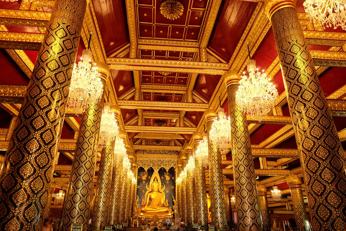 agama, Agama Buddha, Arsitektur