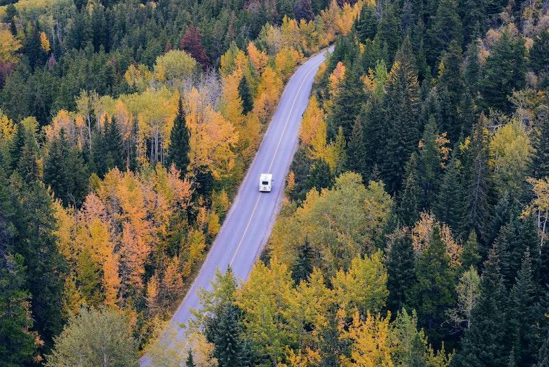 Roadtrip with a motorhome