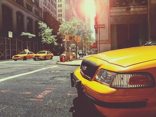Immagine gratuita di auto, città, guidando, new york