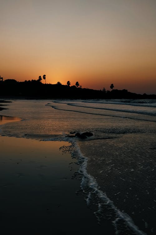 Free stock photo of #sunset#shotonphone