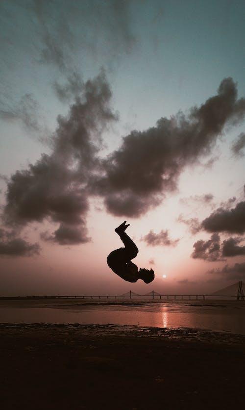 Free stock photo of beach, mumbai, sunset