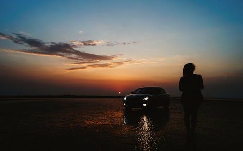 Free stock photo of #landscape#car#sunset#beach