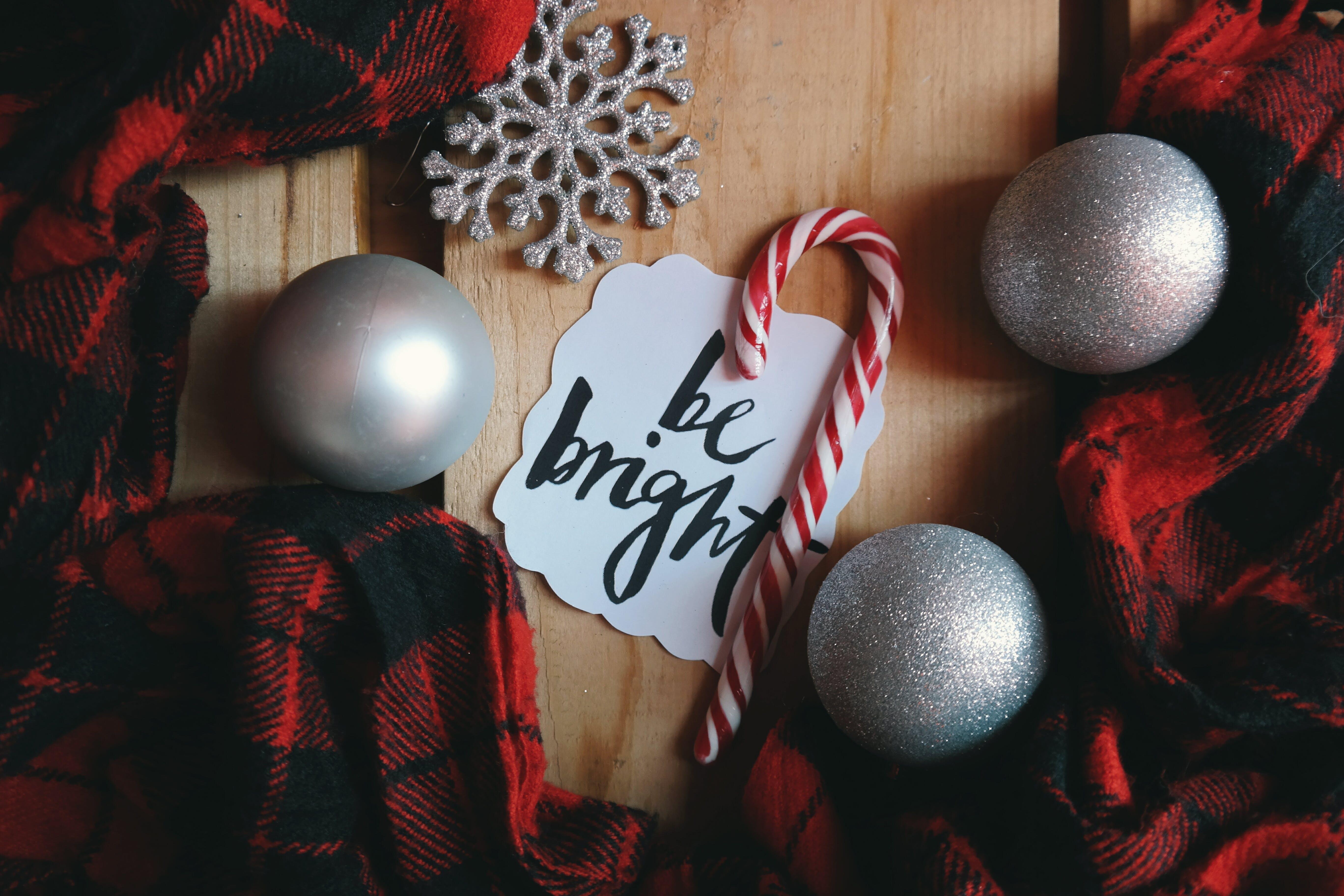 Kostnadsfri bild av godis, jul, julbollar, julinredning