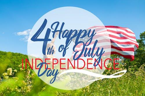 4 Temmuz, abd, amerikan bayrağı, Bağımsızlık Günü içeren Ücretsiz stok fotoğraf