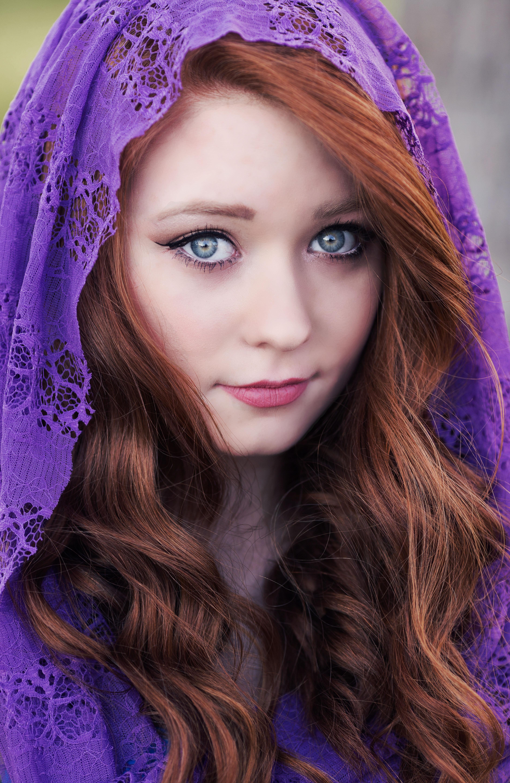 Portrait Of A Beautiful Woman  Free Stock Photo-4065