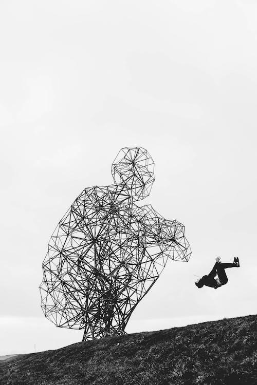 Gratis stockfoto met antony gormley, artwork, attractie, beeld