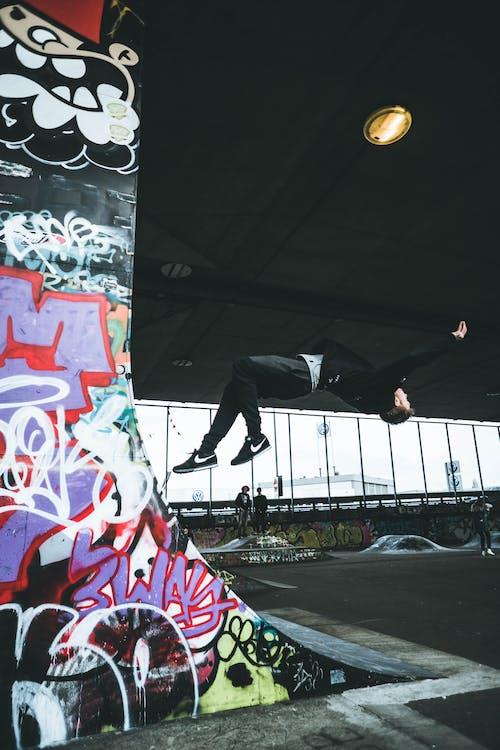 Gratis stockfoto met achterwaartse salto, actie, actief, Amsterdam