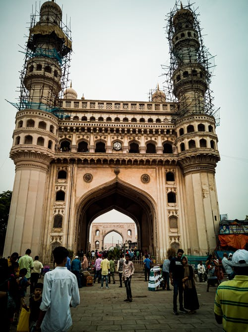 Free stock photo of Charminar, hyderabad sindh, india