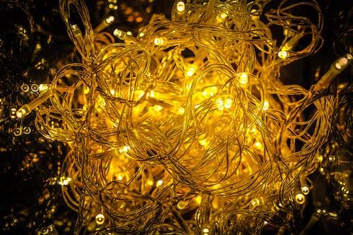 Fotos de stock gratuitas de adornos de navidad, adornos navideños, árbol, brillante