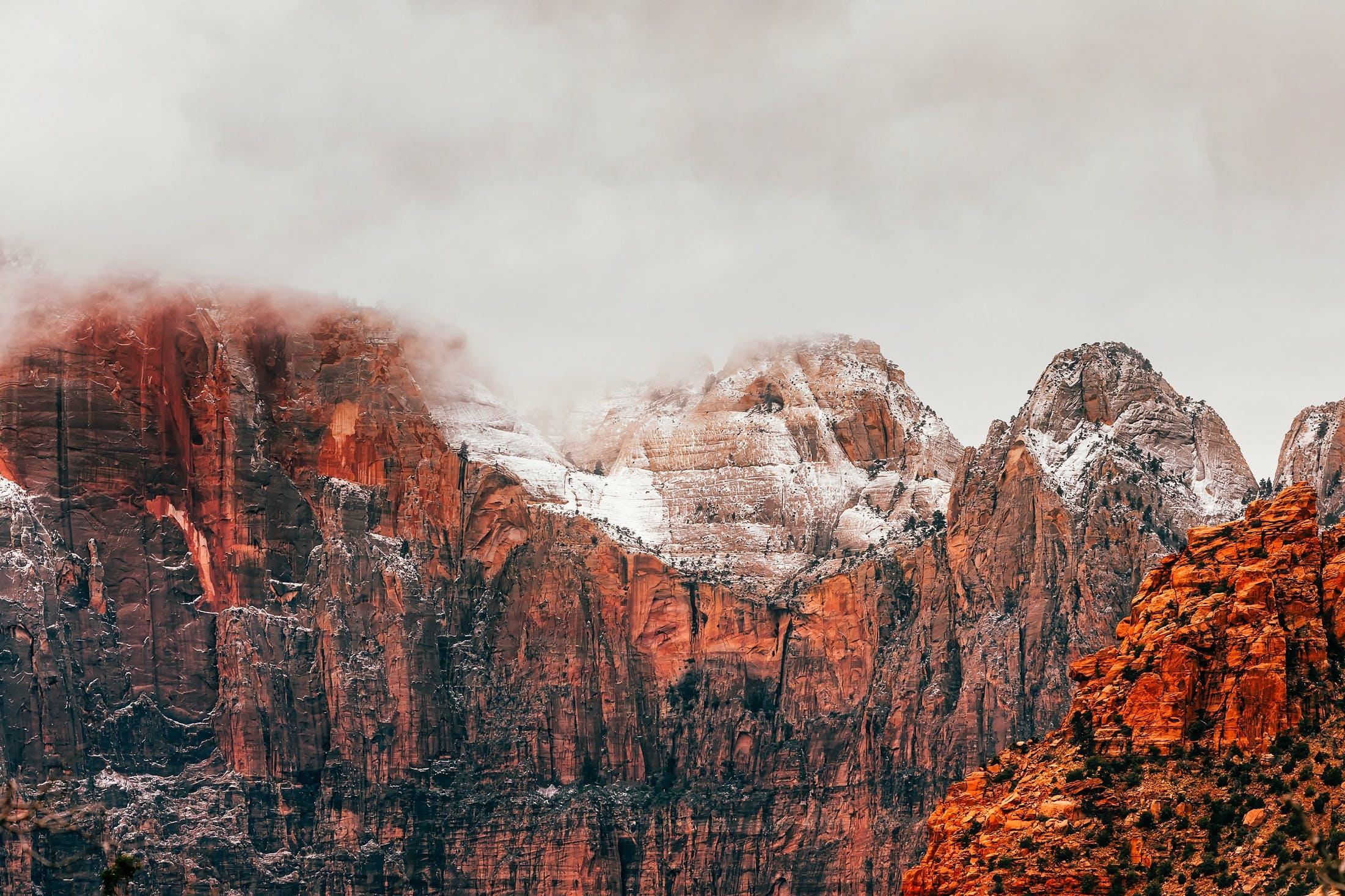 Gratis lagerfoto af bjerge, dis, forkølelse, geologi