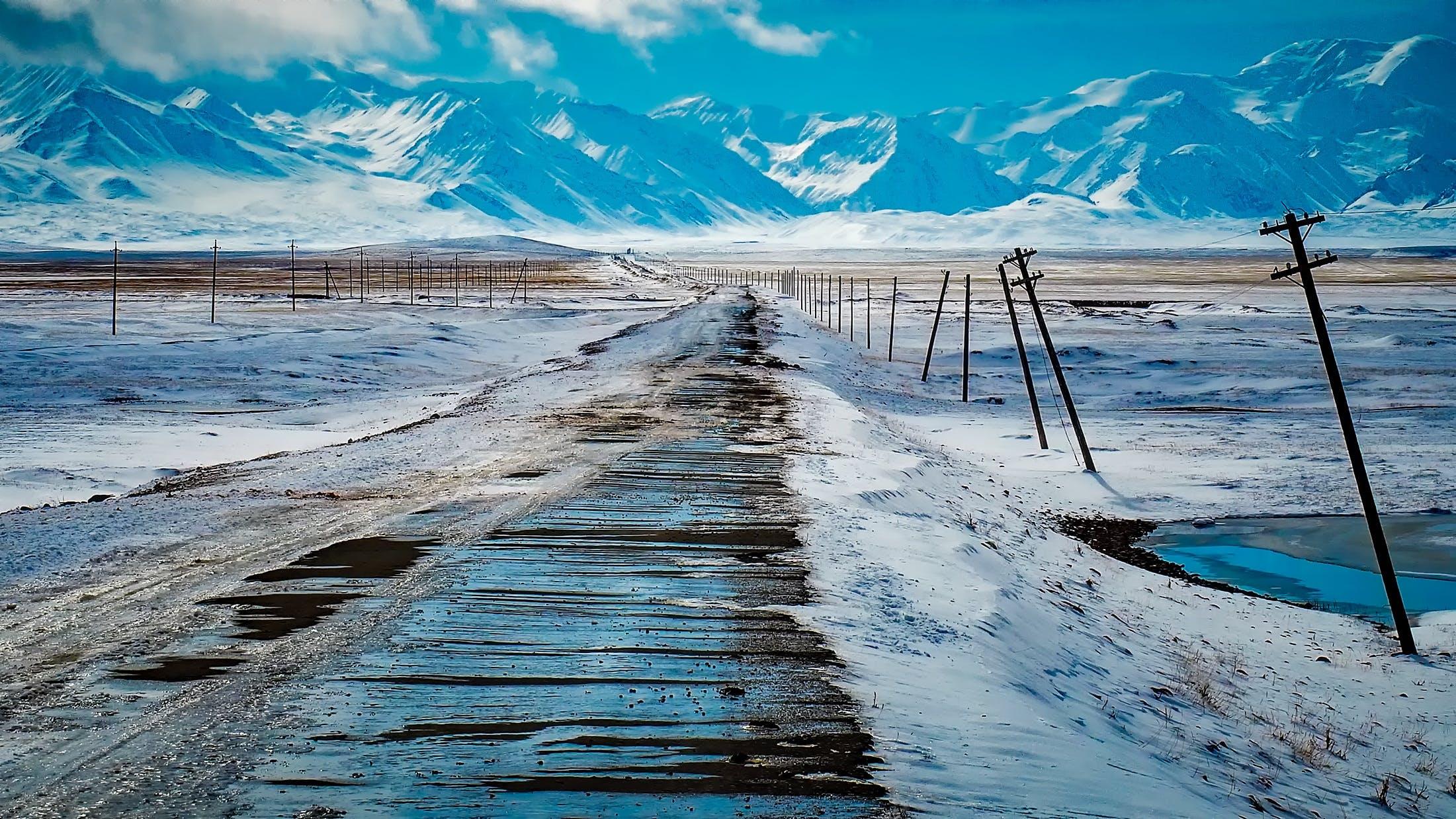 Kostnadsfri bild av bergen, is, kall, landskap