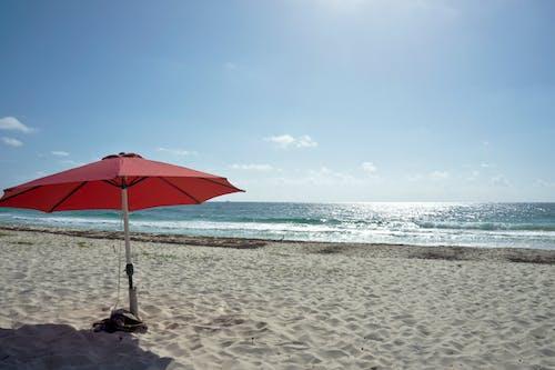 Free stock photo of beach, caribbean, ocean, red