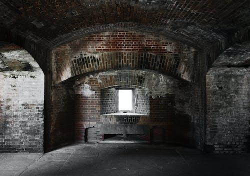 Free stock photo of brick, fort, window