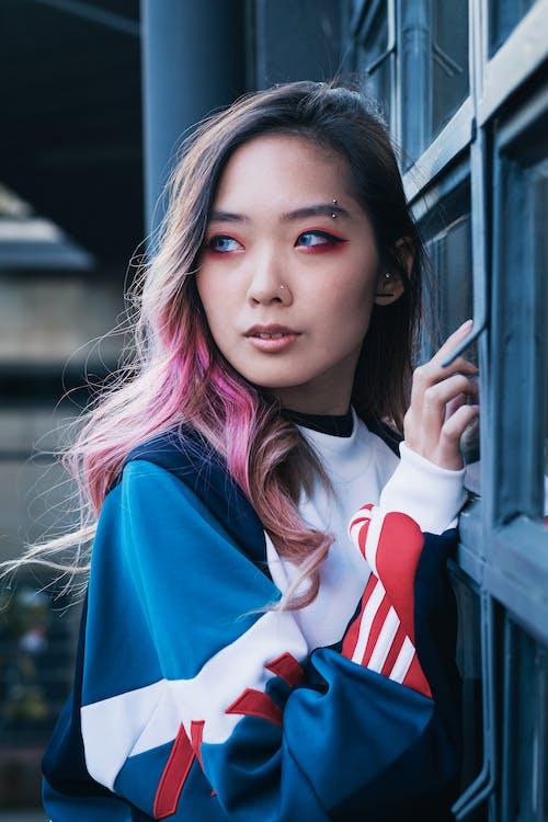 Ingyenes stockfotó áll, arc, ázsiai nő, divat témában