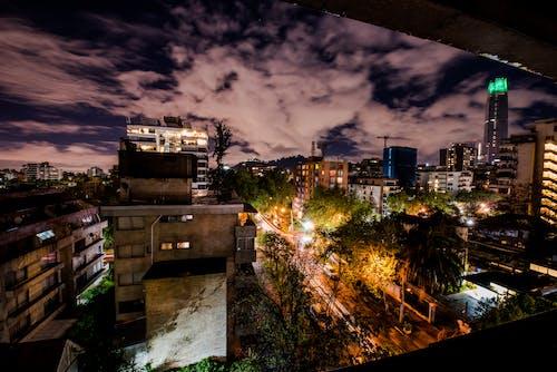 คลังภาพถ่ายฟรี ของ กลางคืน, กลางแจ้ง, ชิลี, ซันติอาโก