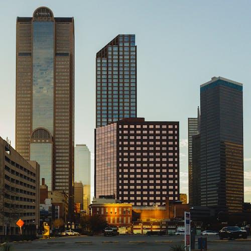 Fotobanka sbezplatnými fotkami na tému architektúra, budovy, Dallas, exteriér budovy