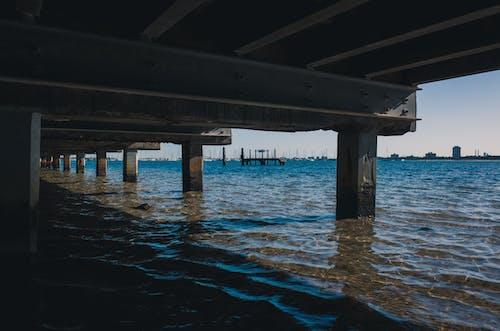 물, 바다, 부두, 블루의 무료 스톡 사진