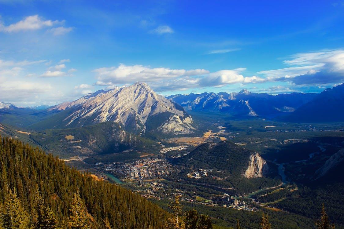 Alberta, bergen, bergketen
