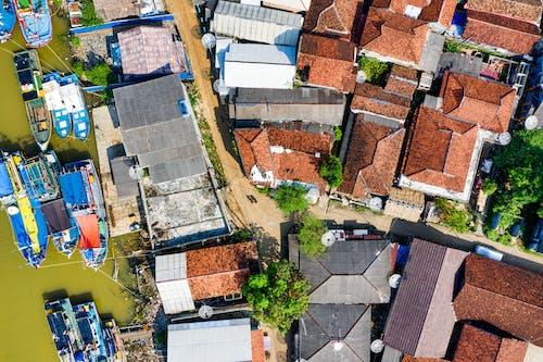 Ilmainen kuvapankkikuva tunnisteilla arkkitehtuuri, droonimateriaali, ilmakuvaus, kadut