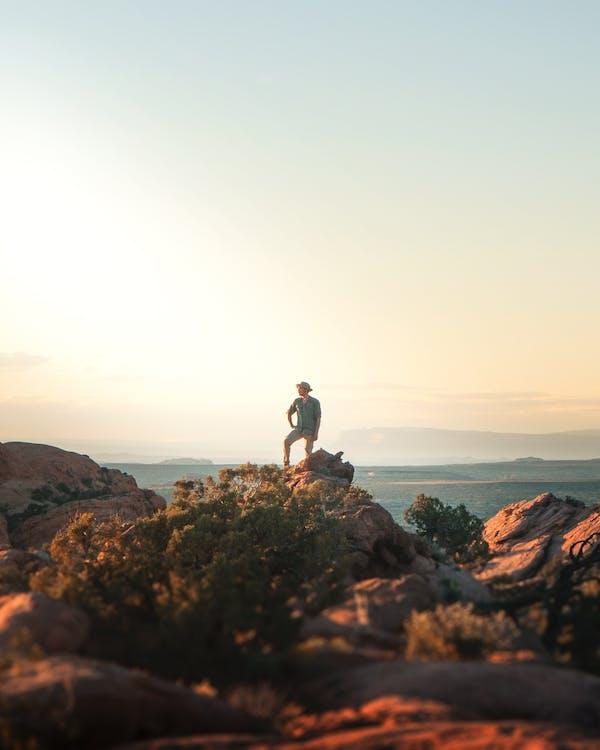 cliff edge, відпочинок, вид