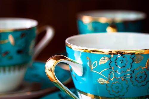 Fotobanka sbezplatnými fotkami na tému hrnčeky, keramický, porcelán, šálky čaju