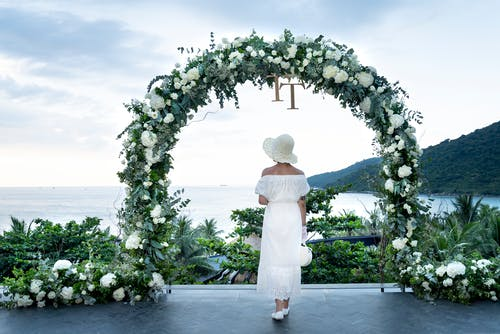Gratis lagerfoto af blomsterarrangement, bryllup, bryllupsdag, dekoration