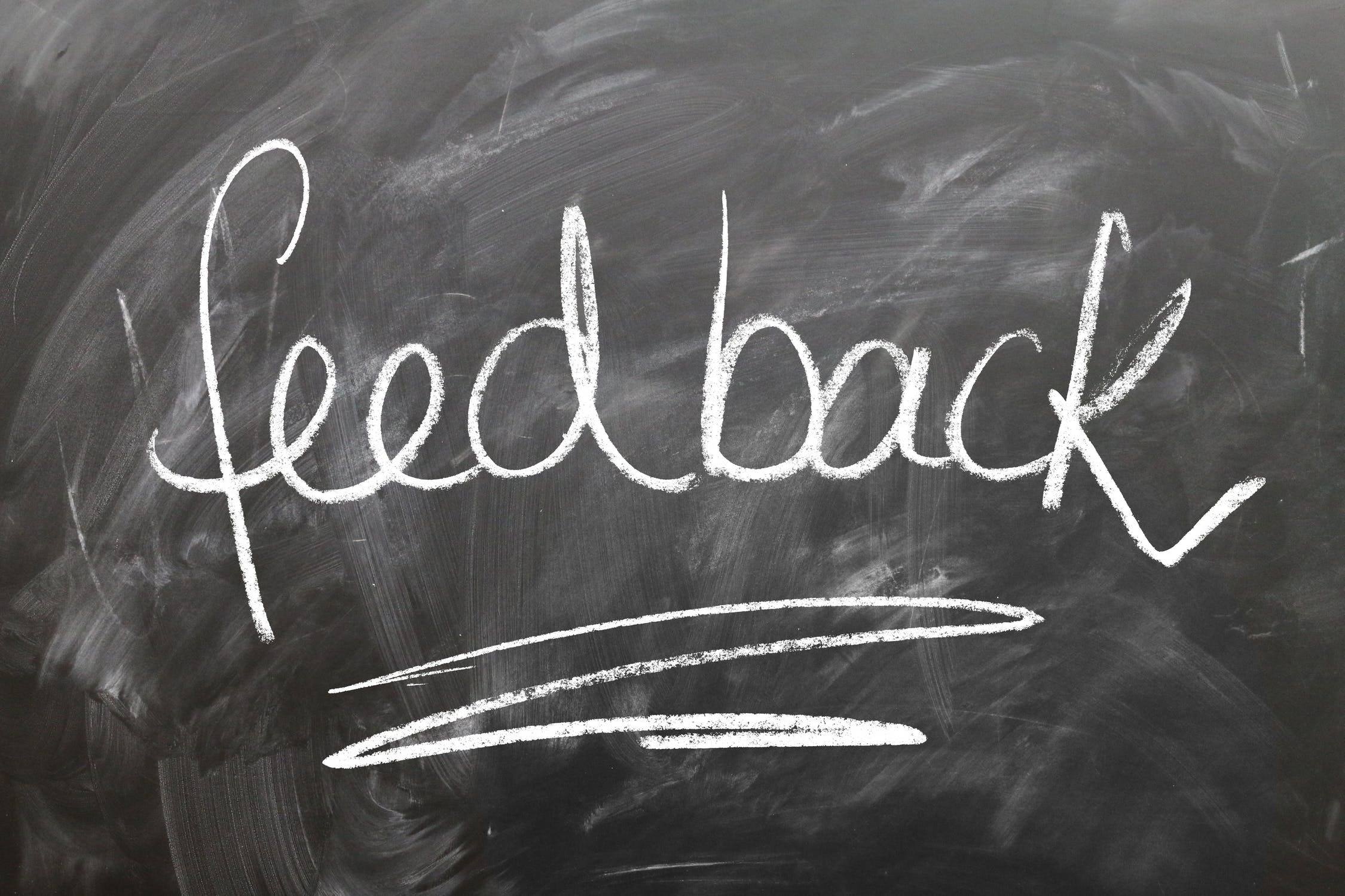 A sign that says feedback - which you will need when looking for local movers Florida.