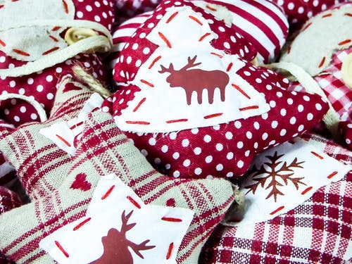 Foto d'estoc gratuïta de coixins, festiu, nadal, tèxtil