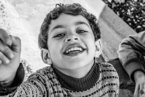 Imagine de stoc gratuită din băiat, balck și alb, copii africani, emoji