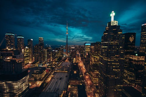 Photo of Toronto Cityscape at Night