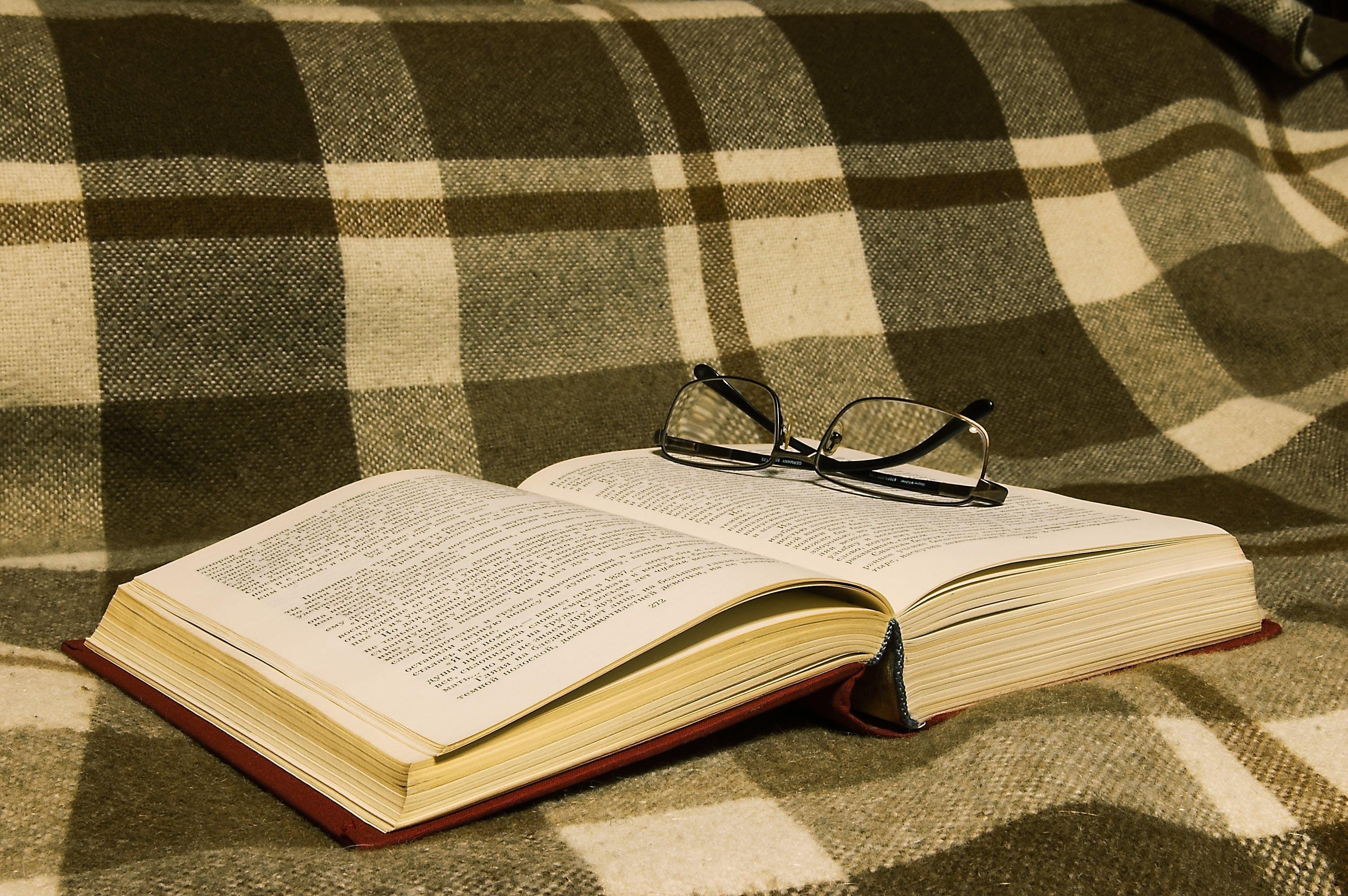 briller, side, viden