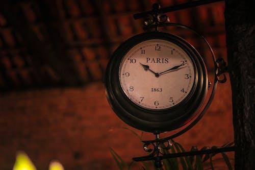 Ilmainen kuvapankkikuva tunnisteilla antiikki, antiikkikello, katto, kello