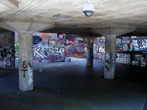 그래피티, 런던, 사우스 뱅크의 무료 스톡 사진