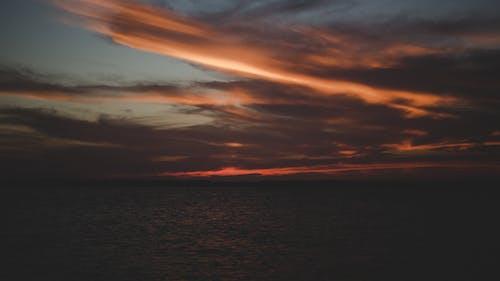 Fotobanka sbezplatnými fotkami na tému dramatická obloha, jazero, krajina, malebný