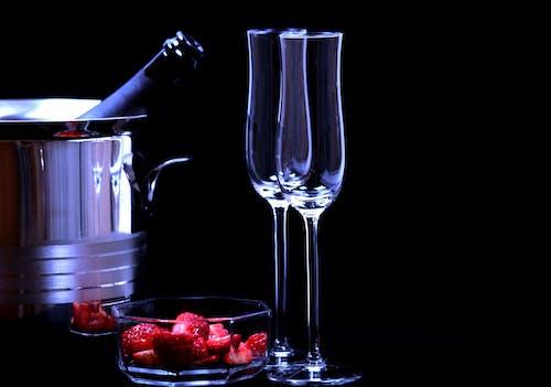 Foto profissional grátis de bebida, celebração, champagne, frasco