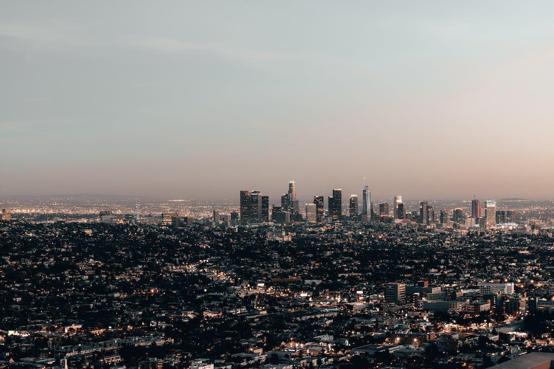 Základová fotografie zdarma na téma budovy, centrum města, letecký snímek