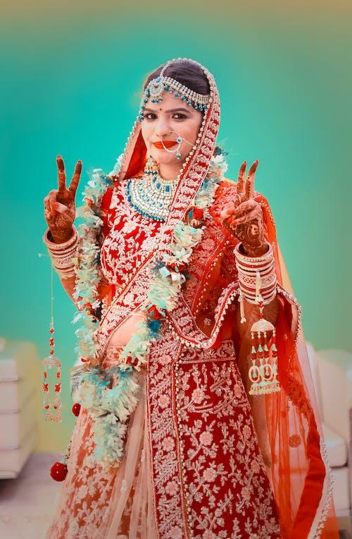 Gratis lagerfoto af brud, fejring, kjole, kultur