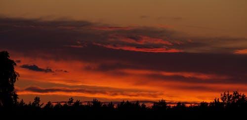 Free stock photo of beautiful sunset, golden horizon, sunset