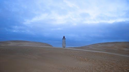 Free stock photo of blue sky, dude, evening sky, sand