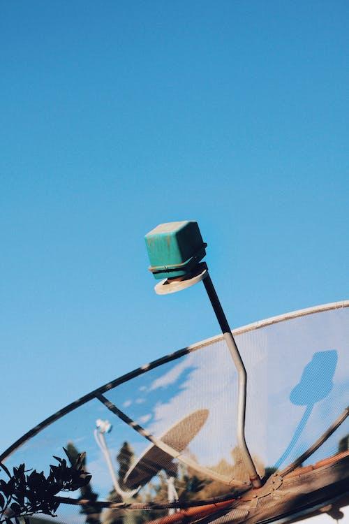 Imagine de stoc gratuită din antenă, cer, cer albastru, de mediu