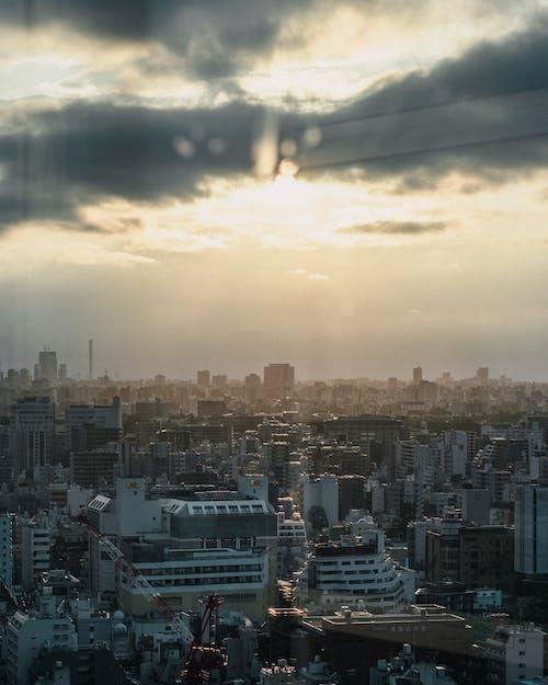Безкоштовне стокове фото на тему «вид, горизонт, дах»