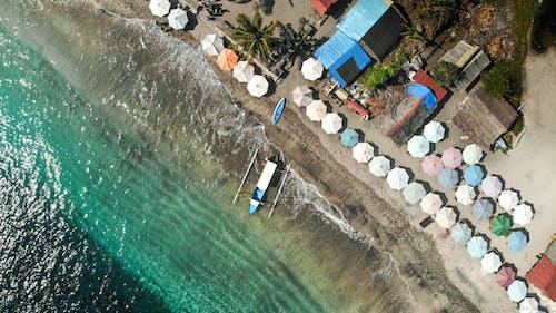 Δωρεάν στοκ φωτογραφιών με aqua, αεροφωτογράφιση, αναψυχή, βάρκα